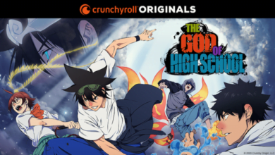 Photo of Anime Original Crunchyroll, The God of High School, Umumkan Tanggal Tayang, Key Visual, dan Trailer Baru