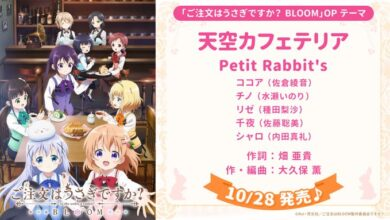Photo of Dengarkan Preview Lagu Opening Season Ketiga Anime Gochiusa BLOOM